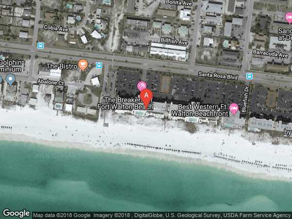 BREAKERS OF FWB (WEST BLDG) , #W507, 381 SANTA ROSA BOULEVARD UNIT W 507, FORT WALTON BEACH 32548
