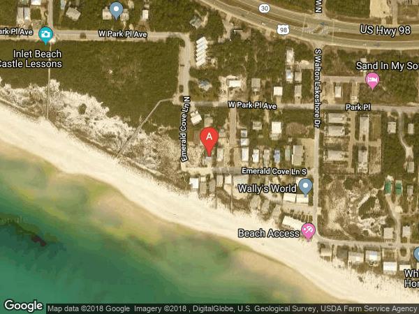 WALTON LAKESHORE DR AREA , 79 EMERALD COVE LANE, INLET BEACH 32461