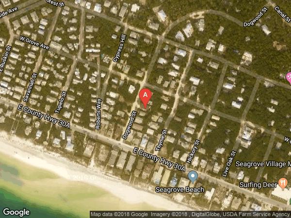 SEAGROVE 1ST ADD , 58 DOGWOOD STREET, SANTA ROSA BEACH 32459