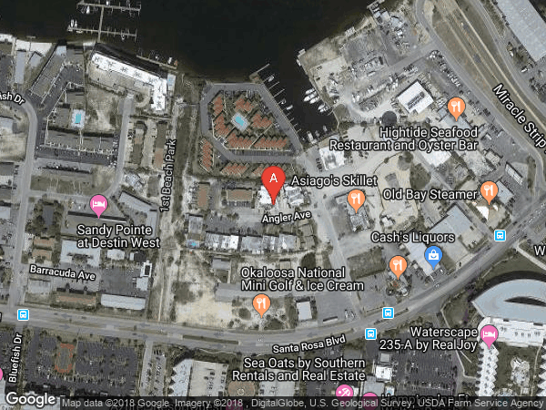 MANOR SHORES 1ST ADDN , #C, 222 ANGLER DRIVE UNIT C, FORT WALTON BEACH 32548