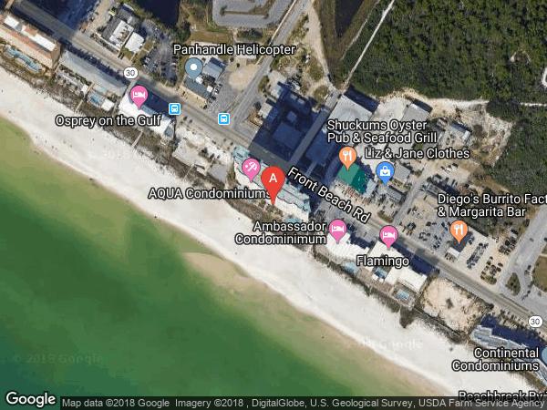 AQUA , #2001, 15625 FRONT BEACH ROAD UNIT 2001, PANAMA CITY BEACH 32413
