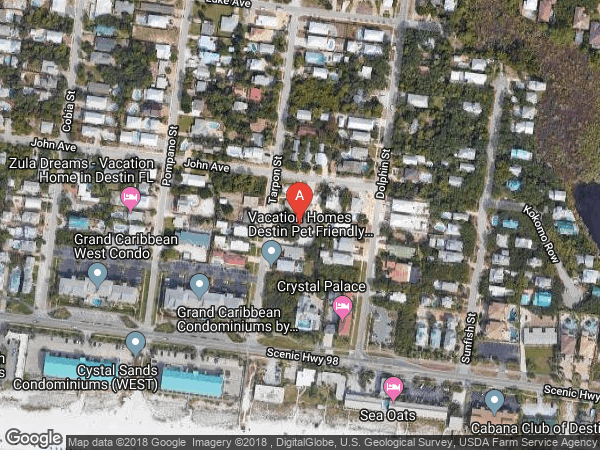 CRYSTAL BEACH , 69 TARPON STREET, DESTIN 32541