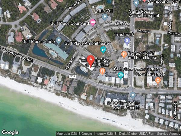 CABANA CONDO AT GULF PLACE , #311, 145 SPIRES LANE UNIT 311, SANTA ROSA BEACH 32459