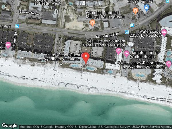 AZURE , #308, 1150 SANTA ROSA BOULEVARD UNIT 308, FORT WALTON BEACH 32548