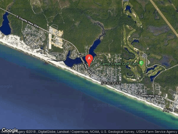 CAMP CREEK EAST , 44 CAMP CREEK ROAD SOUTH, INLET BEACH 32461