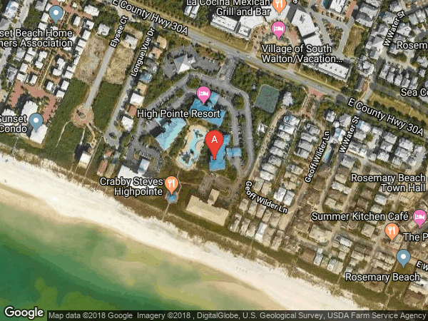 HIGH POINTE RESORT CONDO , #412, 10254 CO HIGHWAY 30-A HIGHWAY E UNIT 412, INLET BEACH 32461