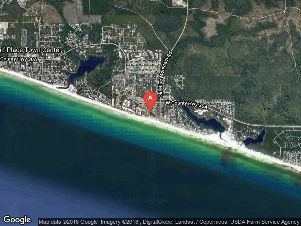 MIRASOL CONDO , #A, 180 BLUE MOUNTAIN ROAD UNIT A, SANTA ROSA BEACH 32459