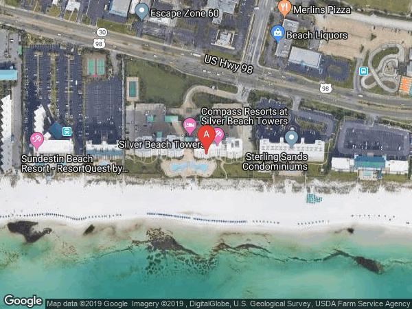 SILVER BEACH TOWERS EAST , #1606E, 1050 HIGHWAY 98  E UNIT 1606, DESTIN 32541