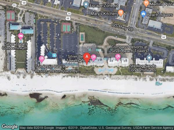 SILVER BEACH TOWERS WEST , #706W, 1048 US-98 UNIT 706W, DESTIN 32541