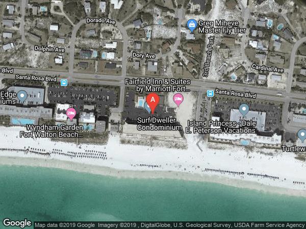 SURF DWELLER , #206, 554 CORAL COURT UNIT 206, FORT WALTON BEACH 32548
