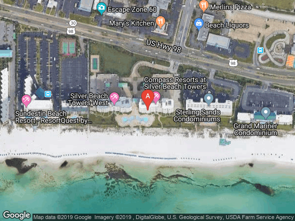 SILVER BEACH TOWERS EAST , #306E, 1050 HIGHWAY 98 UNIT 306, DESTIN 32541