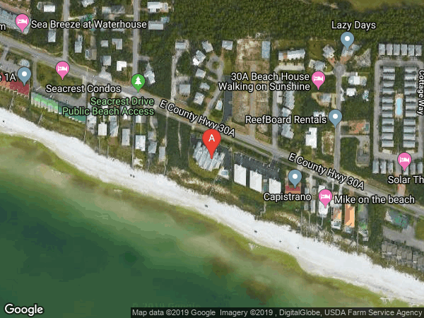 TRANQUILLITY ON THE BEACH , #110, 8600 CO HIGHWAY 30-A  E UNIT 110, INLET BEACH 32461