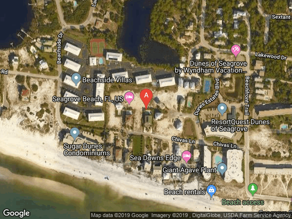 WALK OVER DUNES , #A AND B, 132 CHIVAS LANE UNIT A AND B, SANTA ROSA BEACH 32459