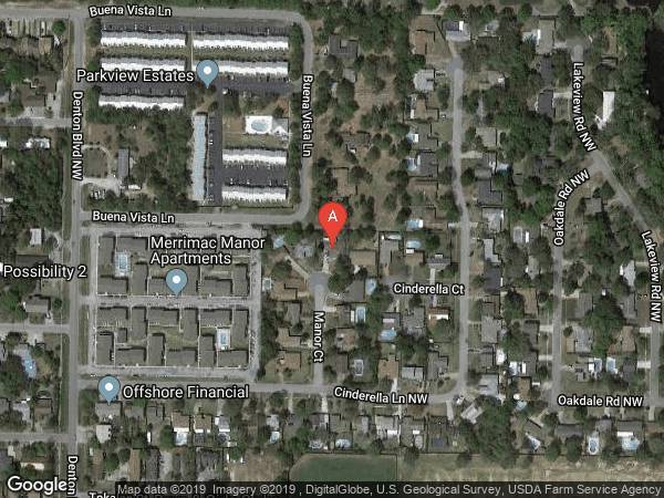 FOREST MANOR 2ND ADDN , 611 MANOR COURT, FORT WALTON BEACH 32547