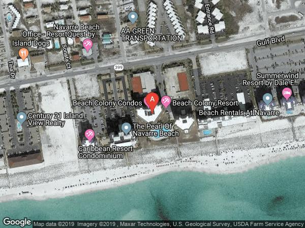 BEACH COLONY RESORT WEST , #W-09C, 8501 GULF BOULEVARD UNIT W-9C, NAVARRE 32566