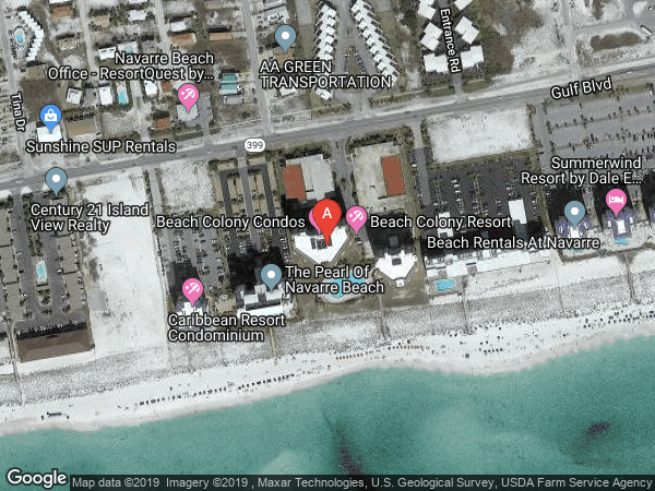 BEACH COLONY RESORT WEST , #W-05B, 8501 GULF BOULEVARD UNIT 5B, NAVARRE 32566