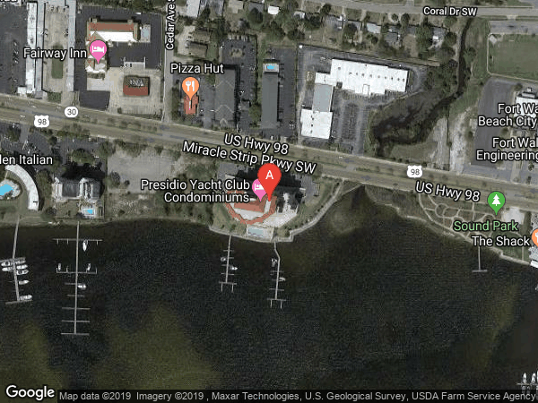 PRESIDIO YACHT CLUB , #1006, 124 MIRACLE STRIP PARKWAY SW UNIT 1006, FORT WALTON BEACH 32548