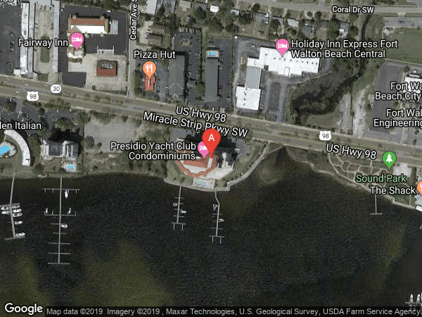 PRESIDIO YACHT CLUB , #PH3, 124 MIRACLE STRIP PARKWAY SW UNIT PH3, FORT WALTON BEACH 32548