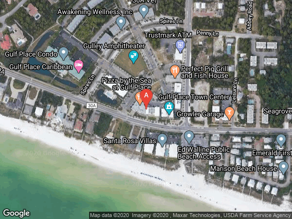 GULF PLACE TOWN CENTER , #2-5, 95 LAURA HAMILTON BOULEVARD UNIT 2-5, SANTA ROSA BEACH 32459