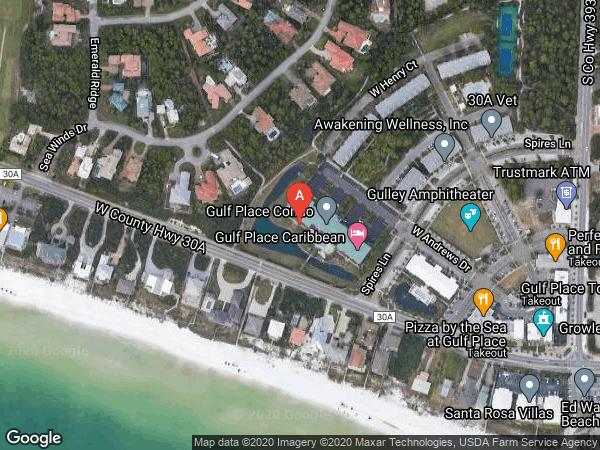 CARIBBEAN CONDO AT GULF PLACE , #414, 144 SPIRES LANE UNIT 414, SANTA ROSA BEACH 32459