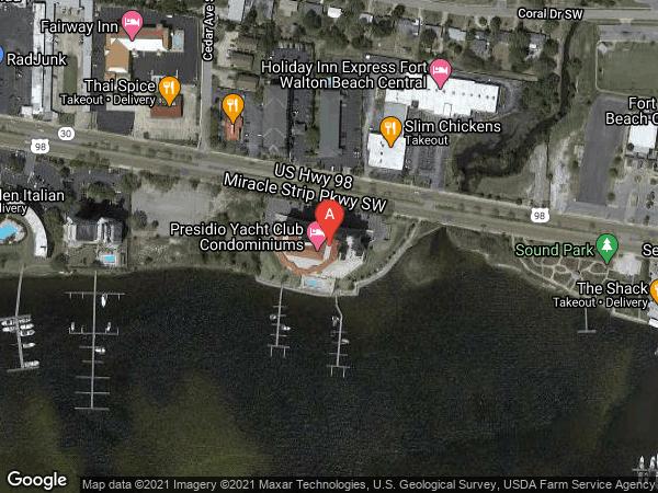 PRESIDIO YACHT CLUB , #506, 124 MIRACLE STRIP PARKWAY UNIT 506, FORT WALTON BEACH 32548
