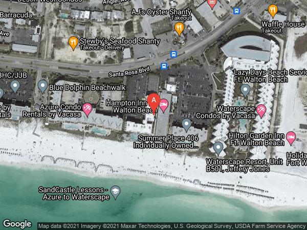 SEA OATS CONDO (SIDE VIEW) , #708, 1114 SANTA ROSA BOULEVARD UNIT 708, FORT WALTON BEACH 32548