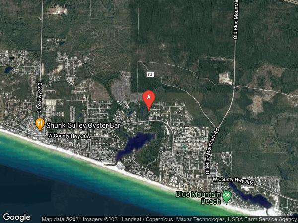 GULF HILLS EST , 105 BLUE GULF DRIVE, SANTA ROSA BEACH 32459