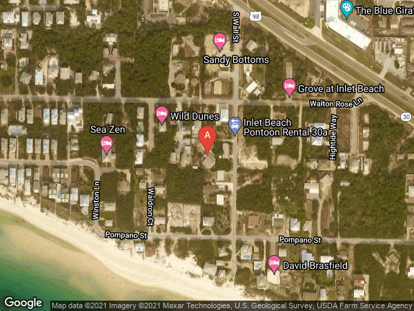WALTON LAKESHORE DR AREA , 140 WALL STREET S, INLET BEACH 32461
