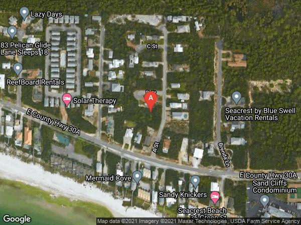 SEACREST EAST S/D , 65 A STREET, INLET BEACH 32461