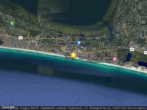 CRESCENT BEACH COTTAGES, MIRAMAR BEACH 32550