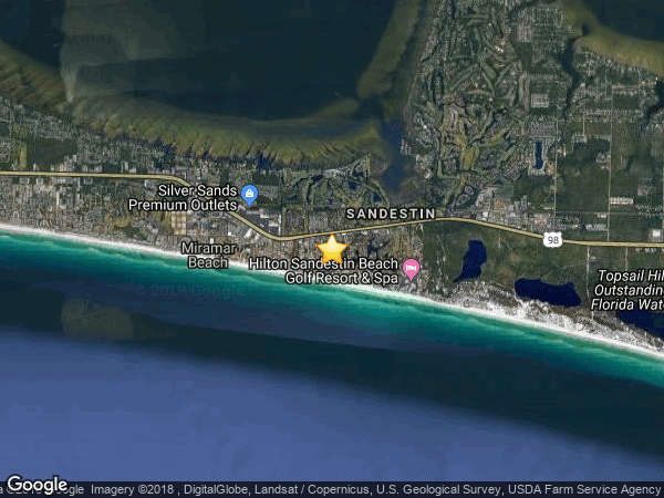 HIDDEN DUNES  - BEACH COTTAGES, MIRAMAR BEACH 32550