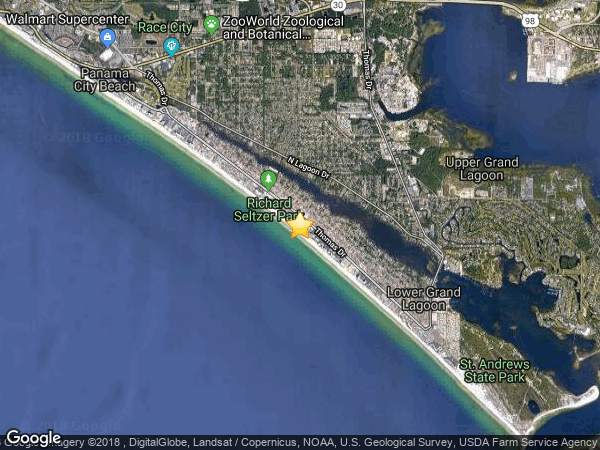 HOLIDAY BEACH  2, PANAMA CITY BEACH 32408