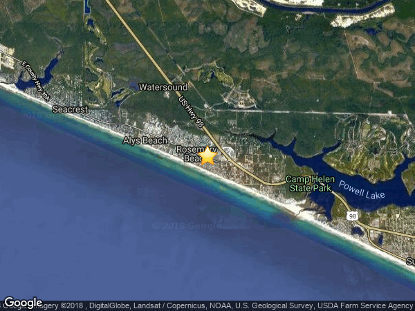 ROSEMARY BEACH,  32461