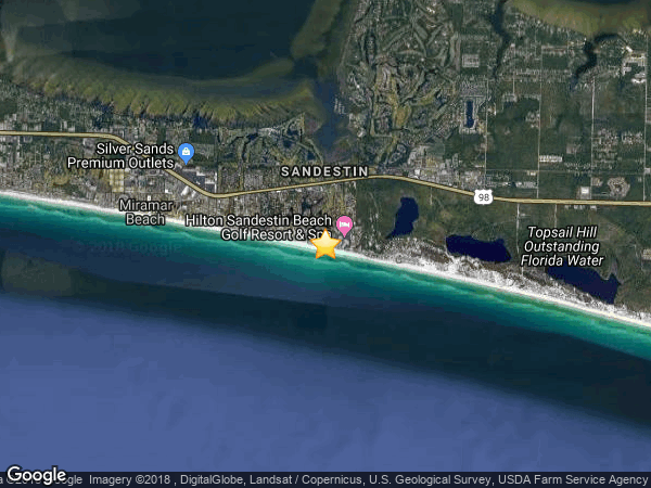 SANDESTIN-BEACHSIDE II, MIRAMAR BEACH 32550