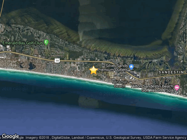 SEASCAPE-GOLF COURSE VILLAS, MIRAMAR BEACH 32550